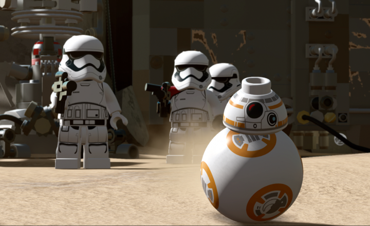 Launch of LEGO Star Wars: The Force Awakens