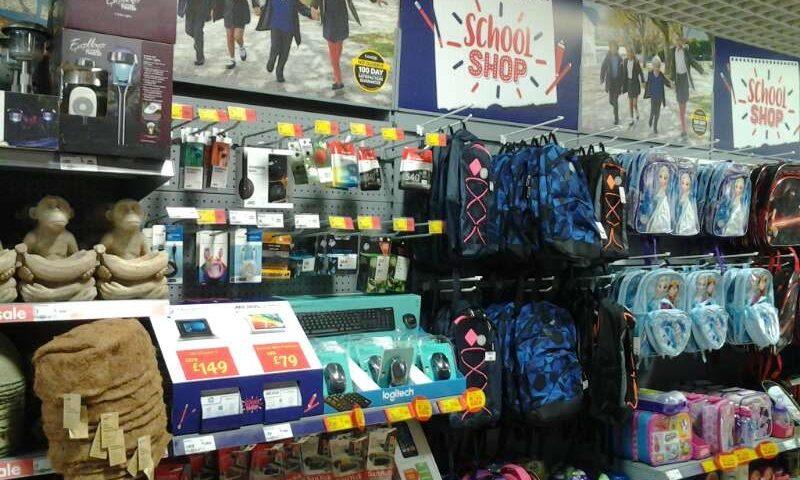 Asda Back-To-School Seasonal Merchandising 2016
