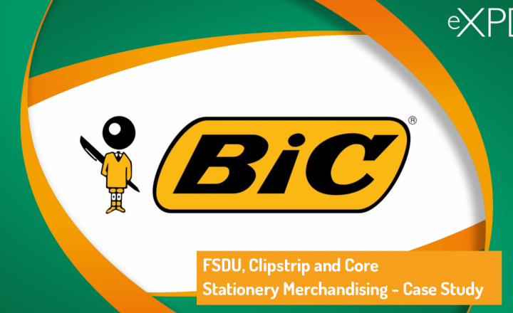 FSDU, Clipstrip and Core Stationery Merchandising