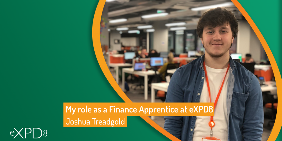 My role as a Finance Apprentice at eXPD8