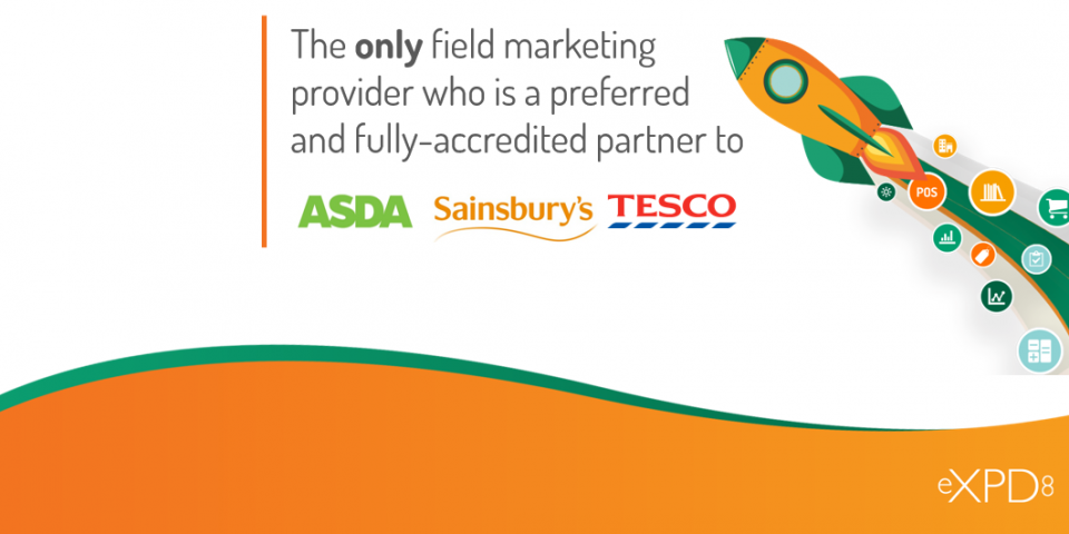 eXPD8 Preferred partner to Tesco