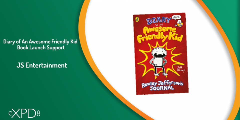 Diary of An Awesome Friendly Kid Book Launch Support