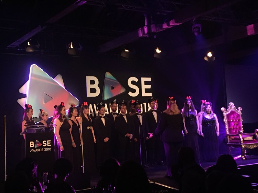 eXPD8 attend BASE Awards 2018