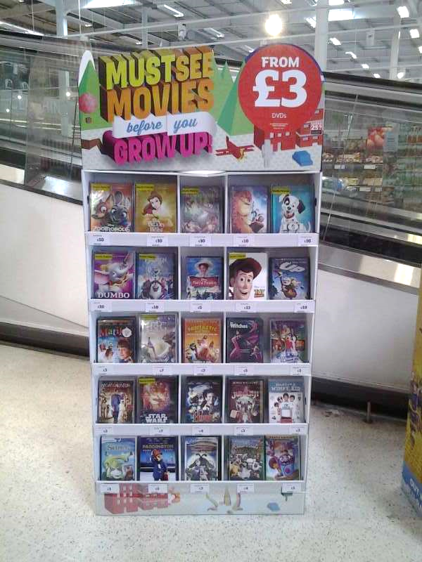 eXPD8 set up for ERA Must see movies before you grow up