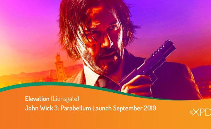 John Wick 3: Parabellum Launch September 2019