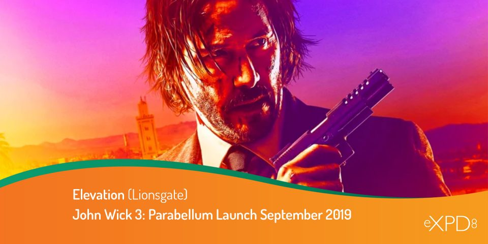 John Wick 3: Parabellum Launch September 2019