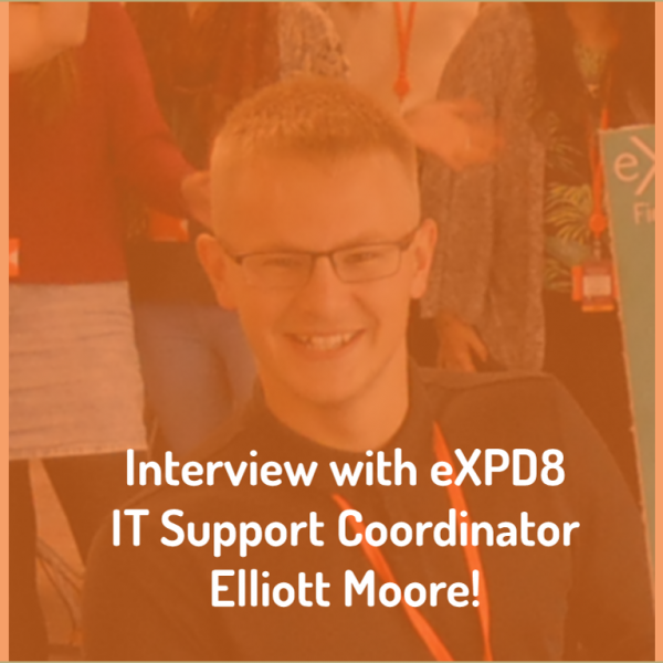 Merchandising agency eXPD8 interviews IT Support Coordinator Elliott Moore