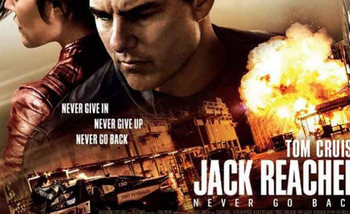 'Jack Reacher: Never Go Back' Launch Day set up