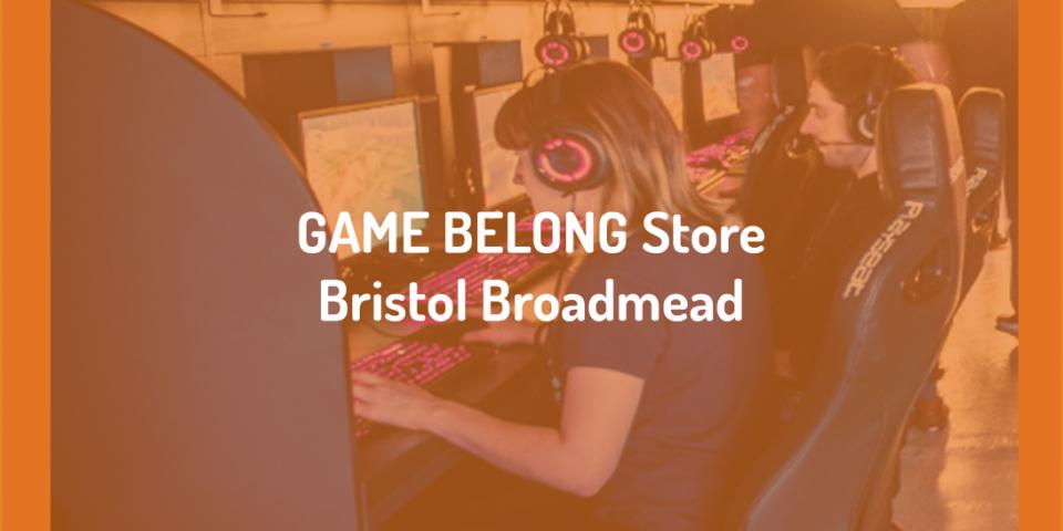 GAME BELONG Store BristolBroadmead