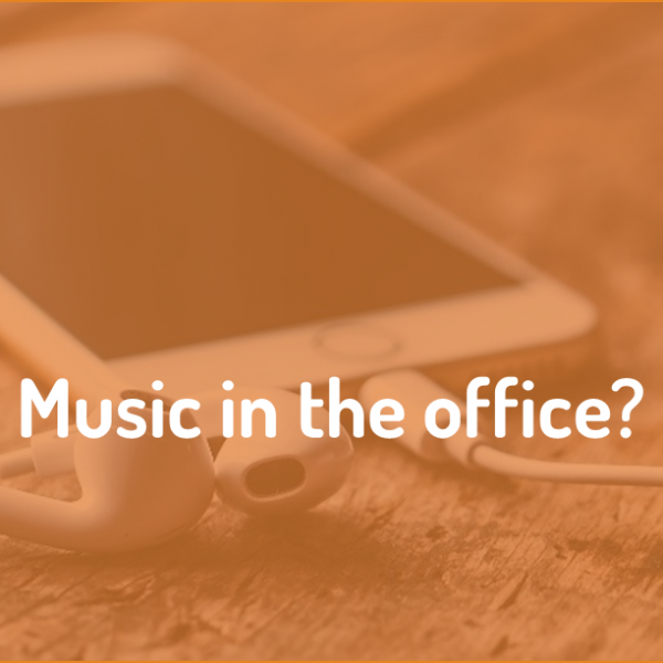 Is music in the office right for a field marketing business?