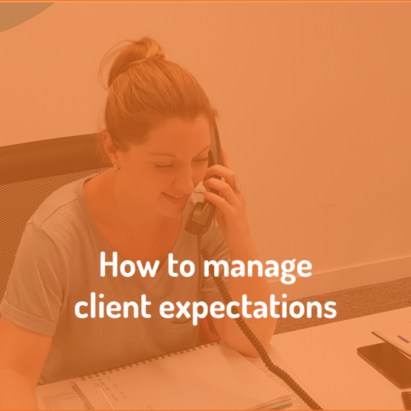 eXPD8 discuss how to manage client expectations