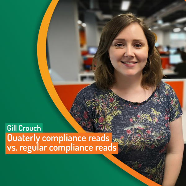 Quarterly compliance reads
