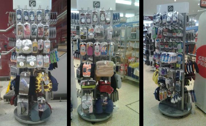 Successfully Merchandising Sainsbury's Go Travel Range