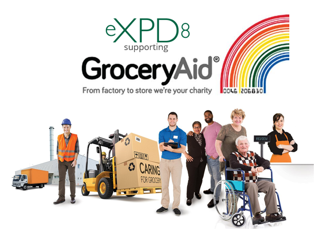 eXPD8 supporting GroeXPD8 supporting Grocery Aid in the South Westcery Aid