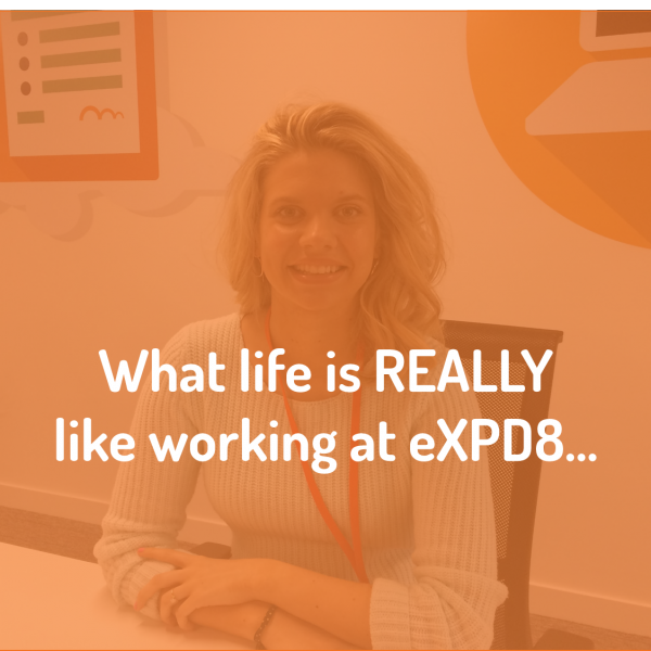 Harriet discusses what life is really like working at eXPD8
