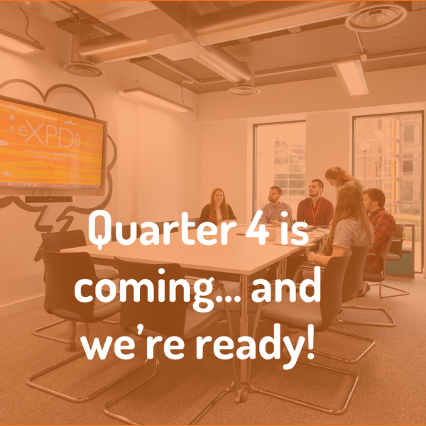eXPD8 planning Q4 in retail