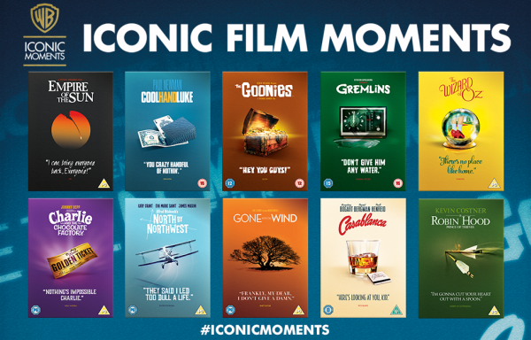 Our favourite titles in the Iconic Moments POS set up event.