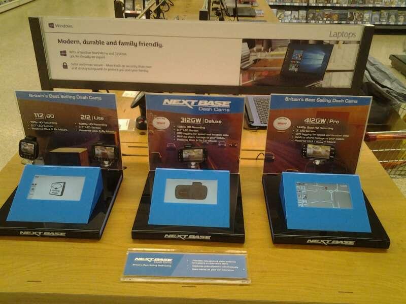 JS Technology Next Base Dash Cam set up