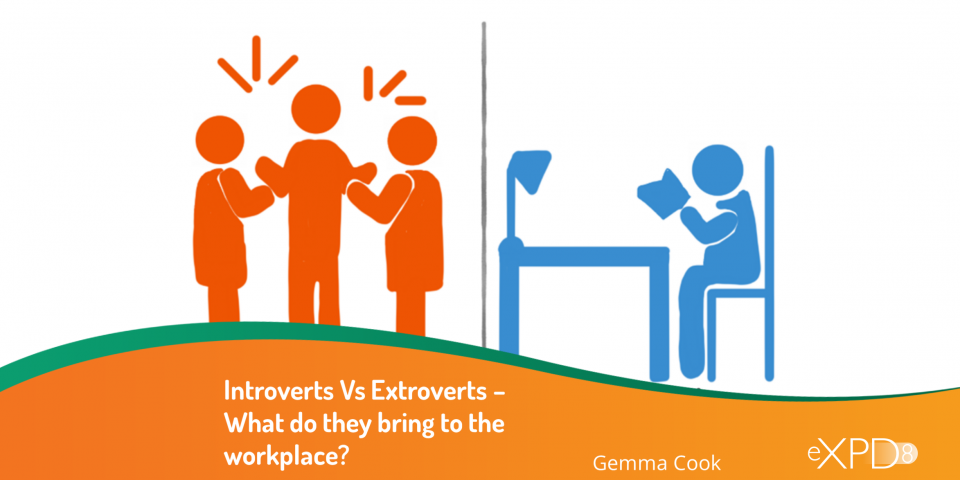 Introverts Vs Extroverts – What do they bring to the workplace and how can we bring the best out in each other?