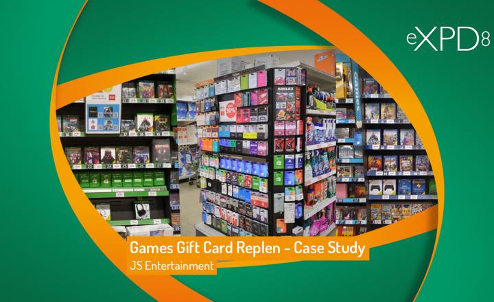 Games Gift Card Replen – Case Study