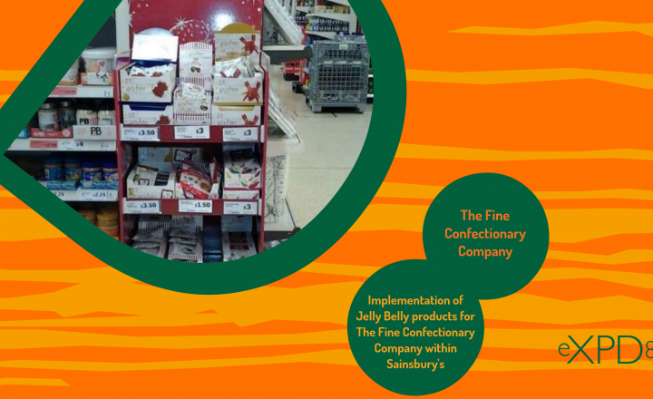 Implementation of Jelly Belly Products for The Fine Confectionery Company within Sainsbury's