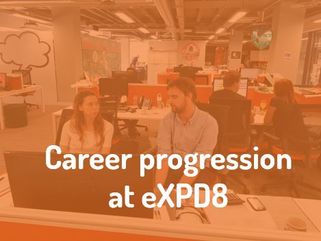 Career Progression at eXPD8 Field Marketing
