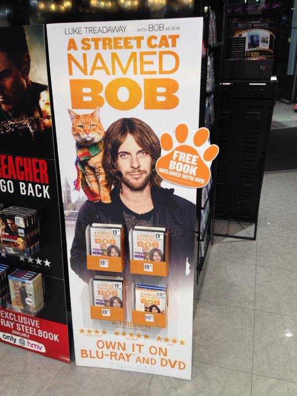 eXPD8 supports DVD and Blu-ray launch for A Street Cat Named Bob