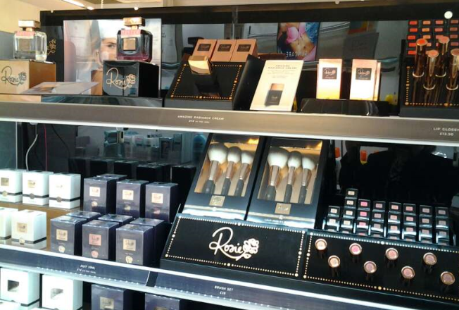 Visual Merchandising Consultancy For Rosie Cosmetics