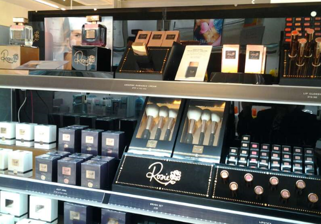 Visual Merchandising Consultancy For Rosie Cosmetics in M&S