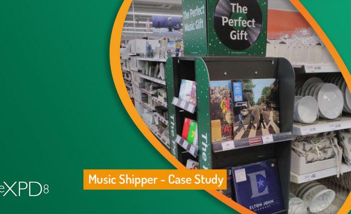 Music Shipper Launch – Case Study