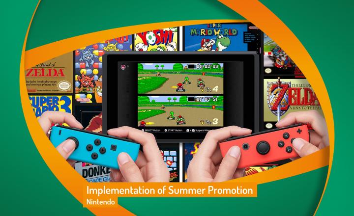 Implementation of Nintendo ASDA Summer Promotion