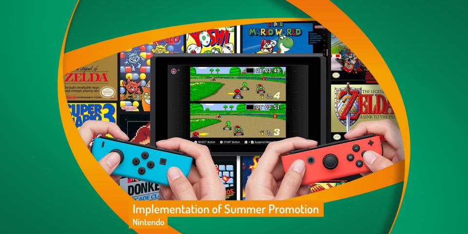 Nintendo Seasonal Support