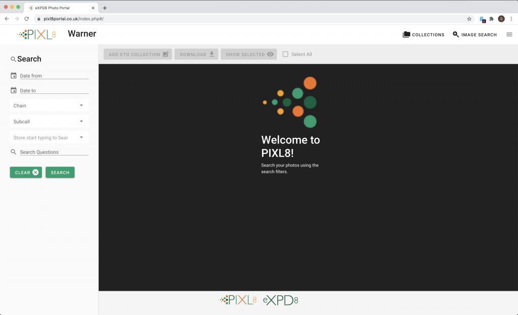 PIXL8 Main Interface