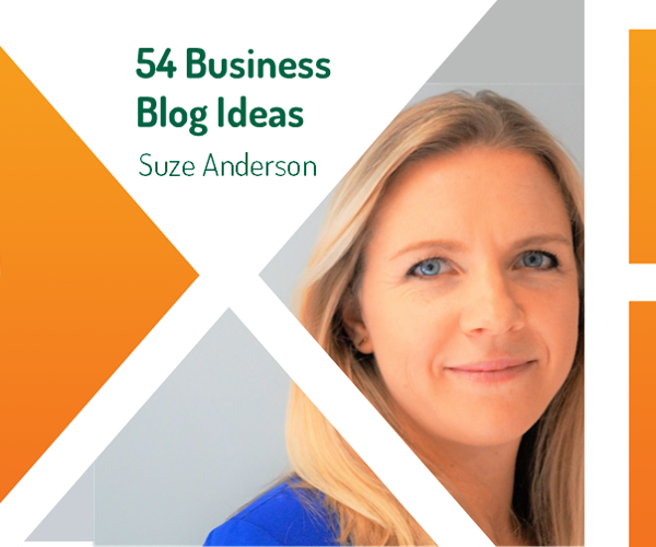 Business Blog Ideas Suze Anderson eXPD8