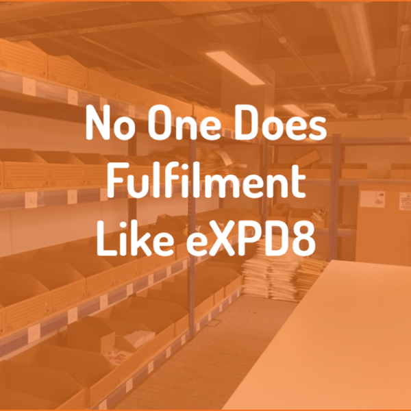 No one does Fulfilment, like we do Fulfilment