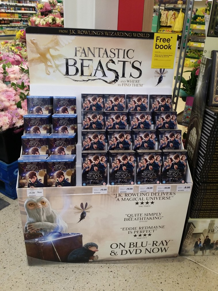 eXPD8 launch Fantastic Beasts