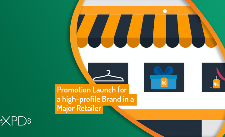 Promotion Launch for a high-profile Brand in a Major Retailer