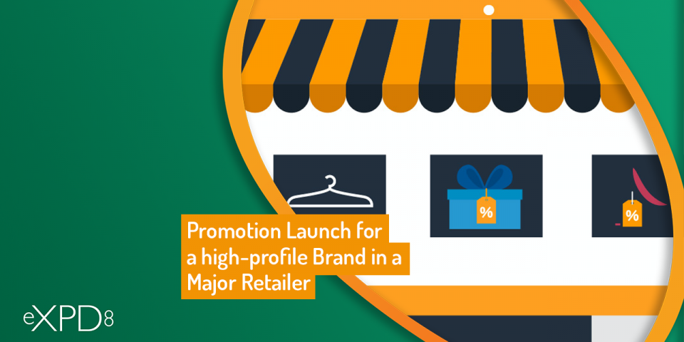 Hi profile brand major retailer
