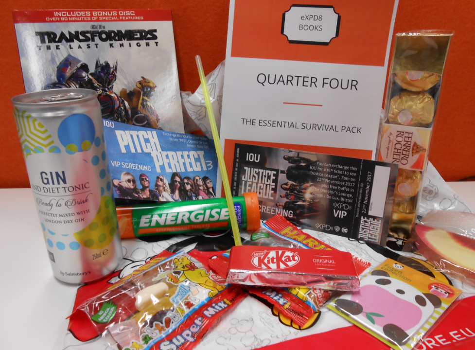 eXPD8 Q4 planning goodie bag