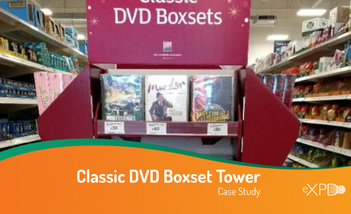 Classic DVD Boxset Tower Case Study
