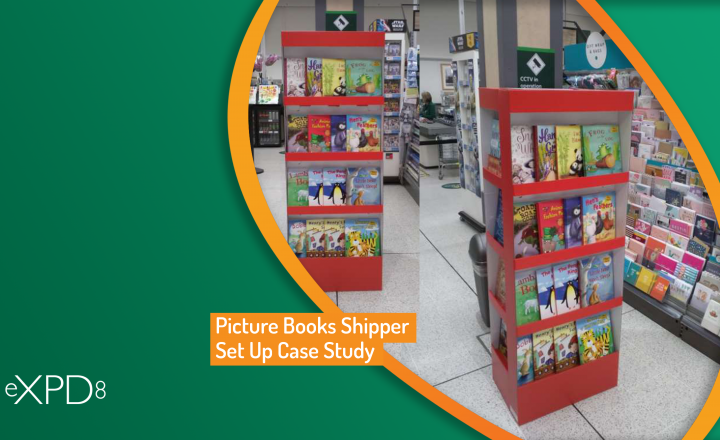 Picture Books Shipper Set Up Case Study