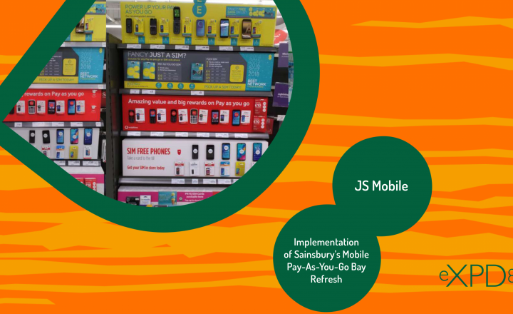 Implementation of Sainsbury's Mobile Pay-As-You-Go Bay Refresh