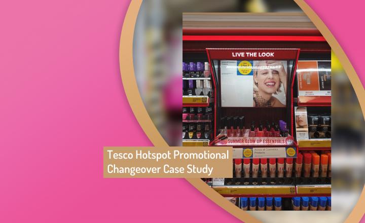 Tesco Hotspot Promo Changeover