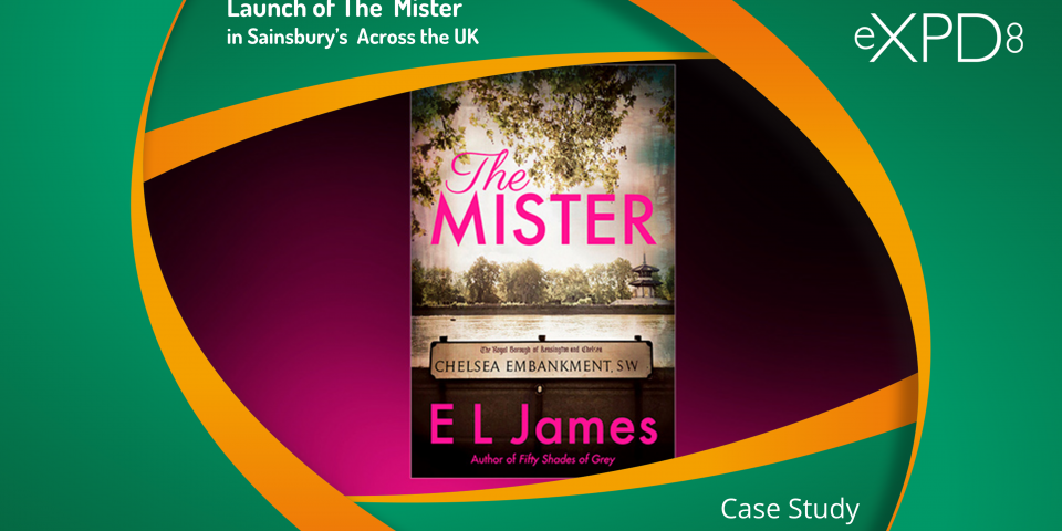 "Launch of ""The Mister"" by E L James in Sainsbury's"