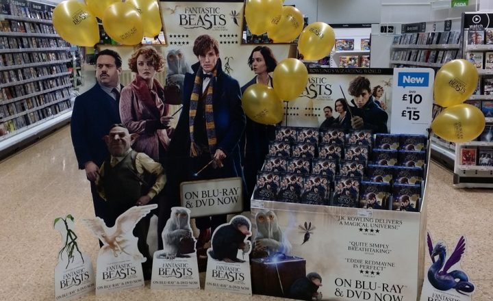 Day 1 Theatrical POS & Visual Merchandising For Film Launch 'Fantastic Beasts & Where To Find Them'