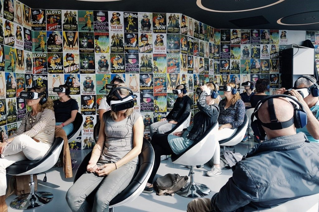 eXPD8 Field Marketing visits Europe's First VR Cinema