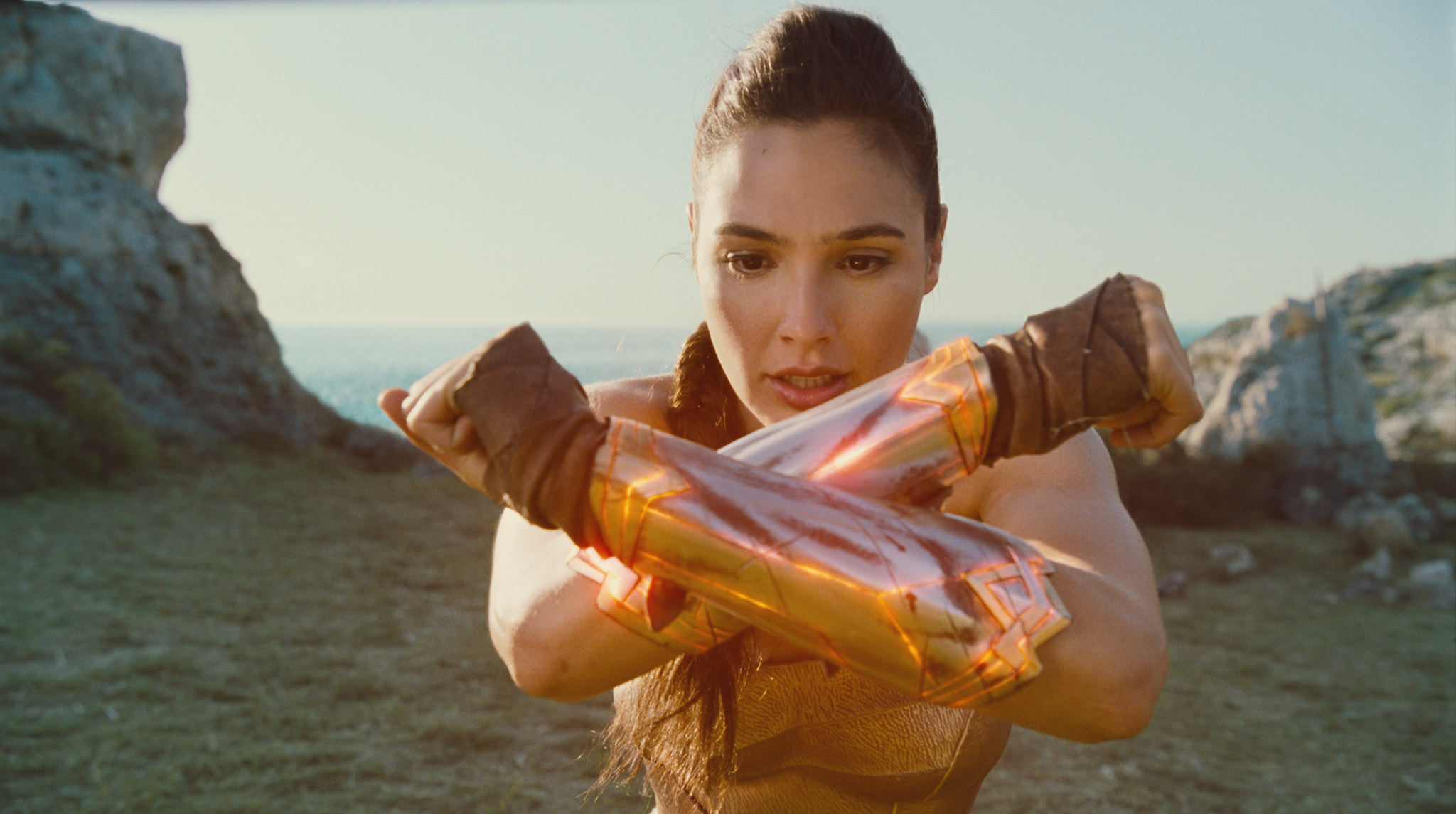 POS and Promotional set up for Wonder Woman