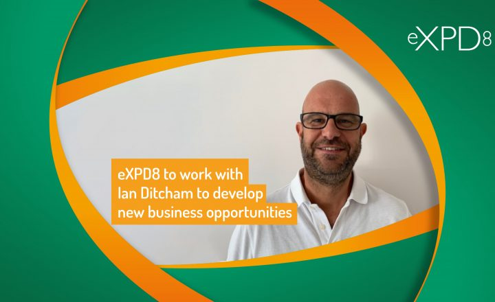 eXPD8 to work with Ian Ditcham to develop new business opportunities