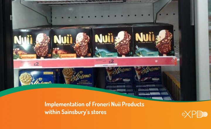 Implementation of Froneri Nuii Products within Sainsbury's stores