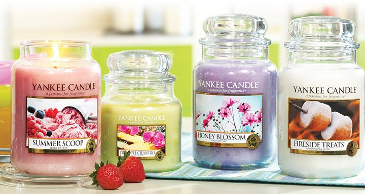 Merchandising for Yankee Candle